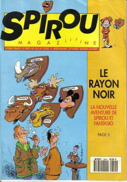 Le journal de Spirou 2844 - 2844