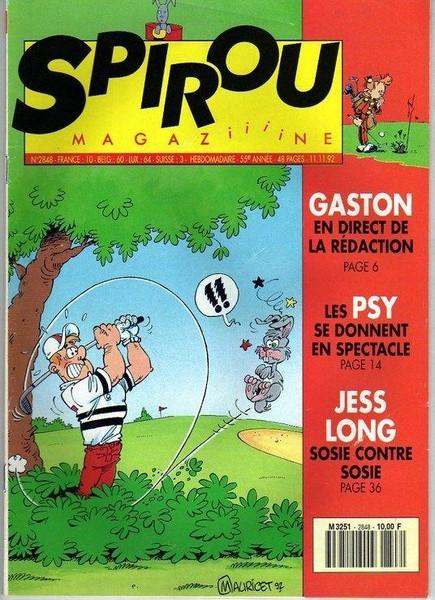Le journal de Spirou 2848 - 2848