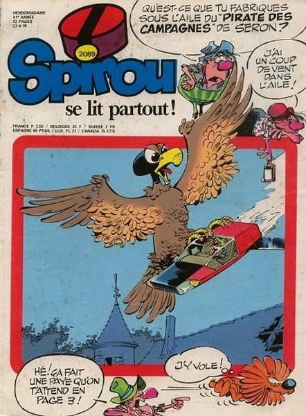 Le journal de Spirou 2089 - 2089