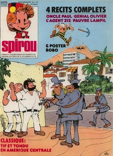 Le journal de Spirou 2075 - 2075