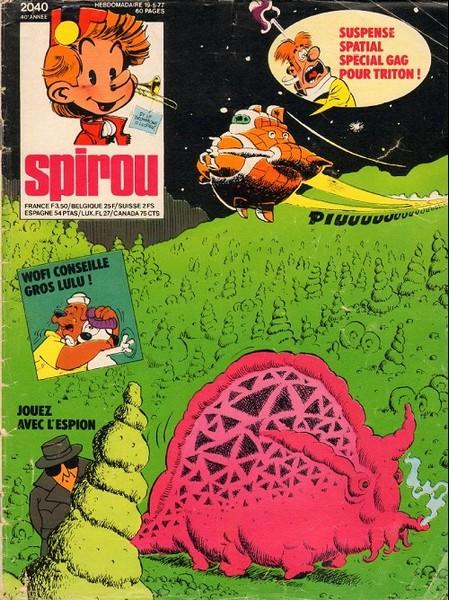 Le journal de Spirou 2040 - 2040