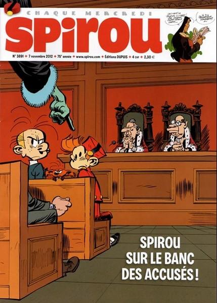 Le journal de Spirou 3891 - 3891