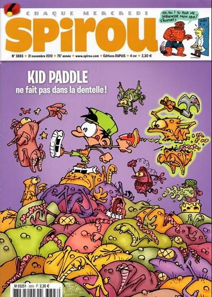 Le journal de Spirou 3893 - 3893