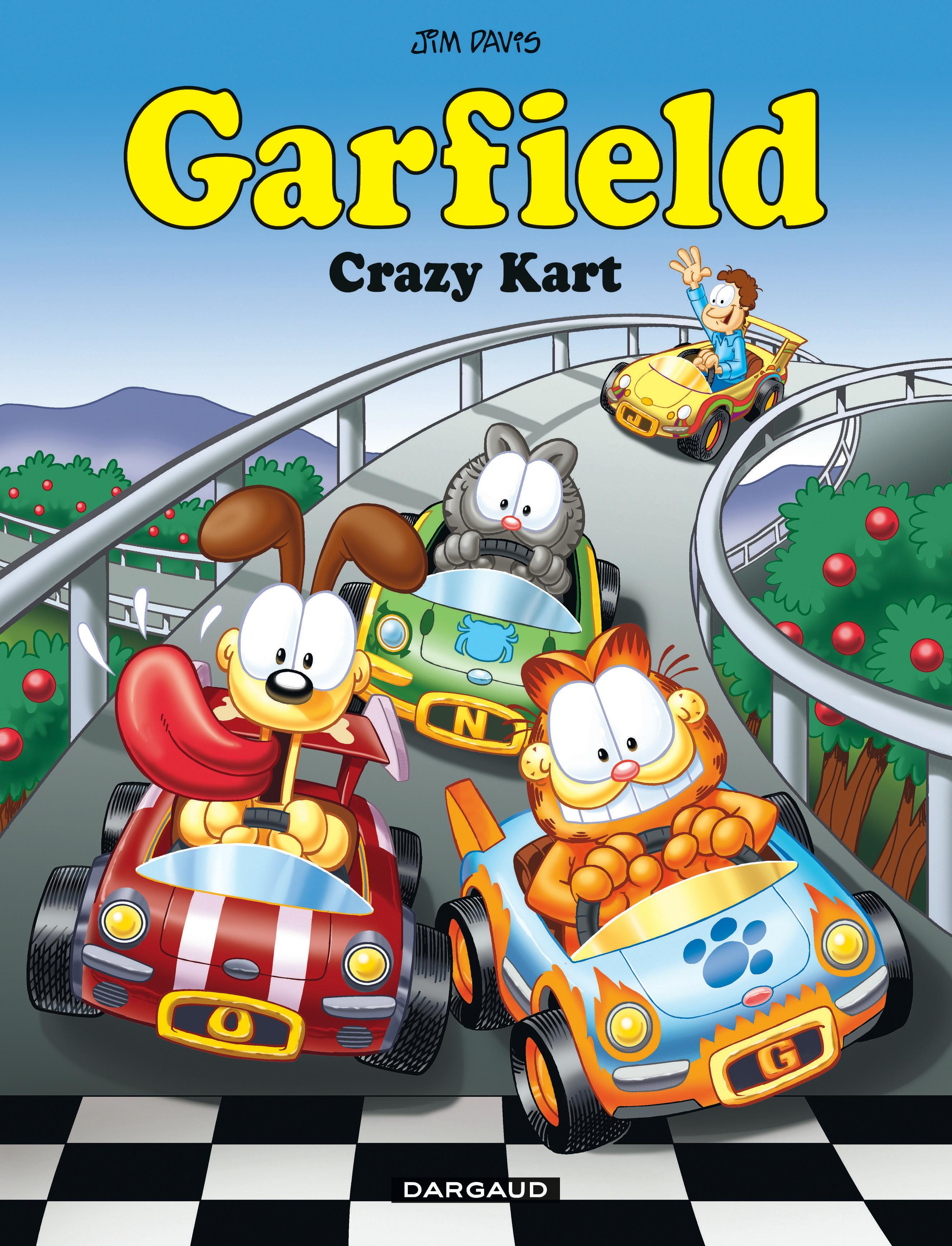 Garfield 57 - Crazy Kart