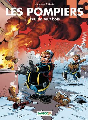 Les pompiers 13 - Tome 13 : Feu de tout bois