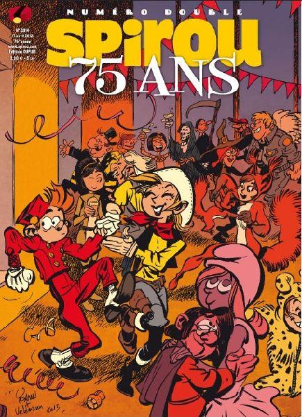 Le journal de Spirou 3914 - Spécial 75 ans