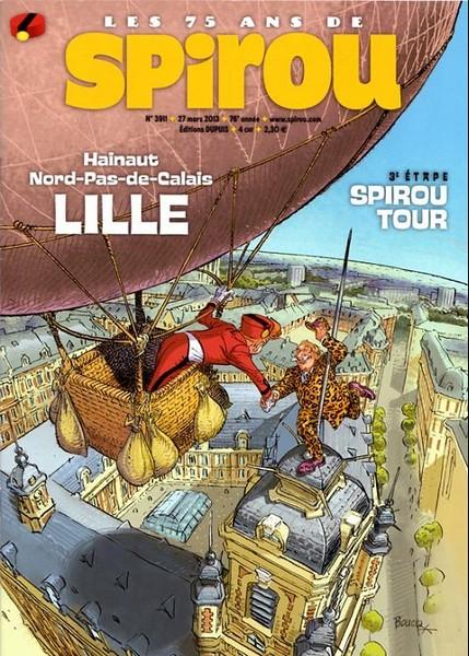 Le journal de Spirou 3911 - 3911