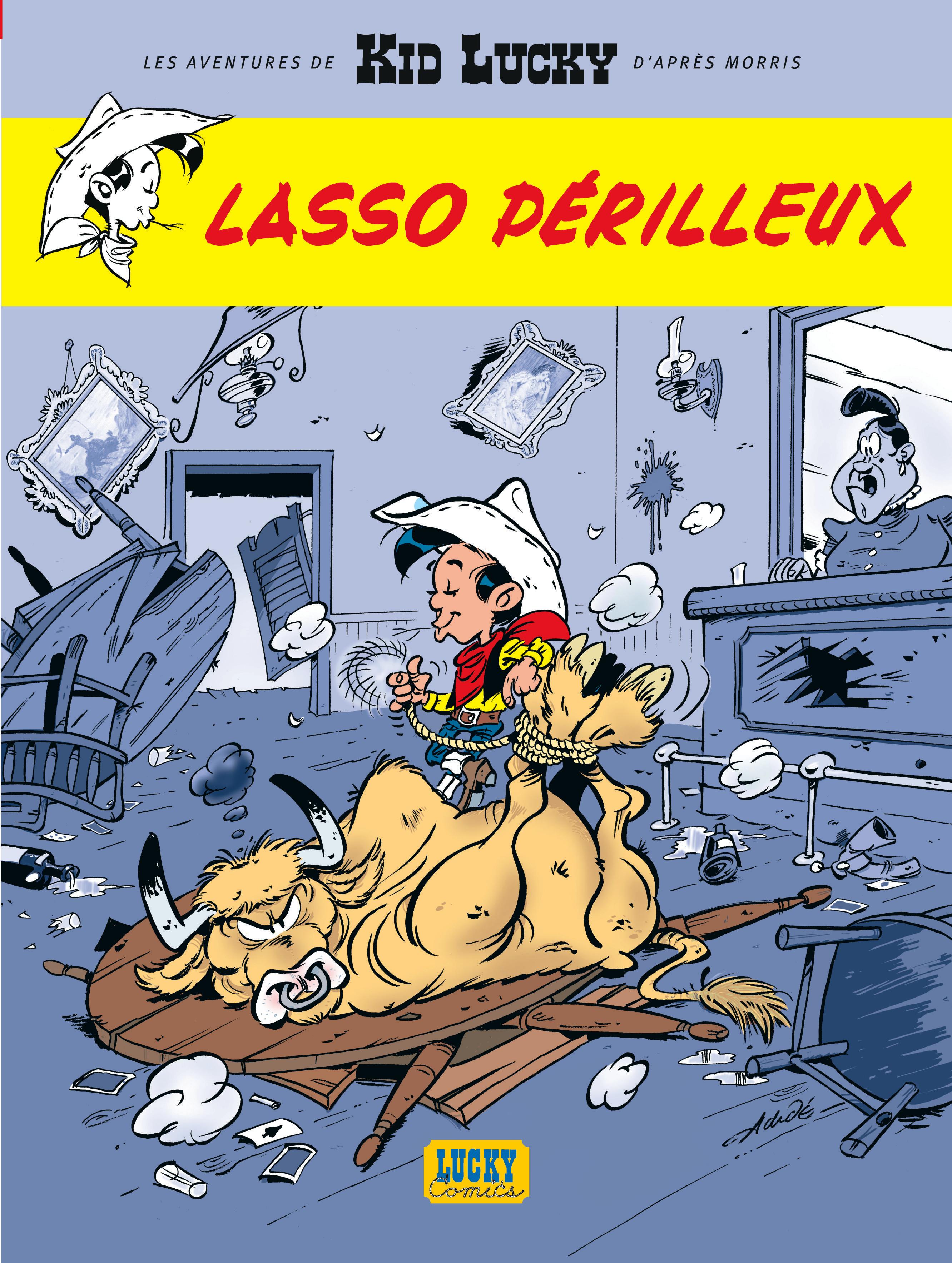 Les aventures de Kid Lucky 2 -  Lasso périlleux
