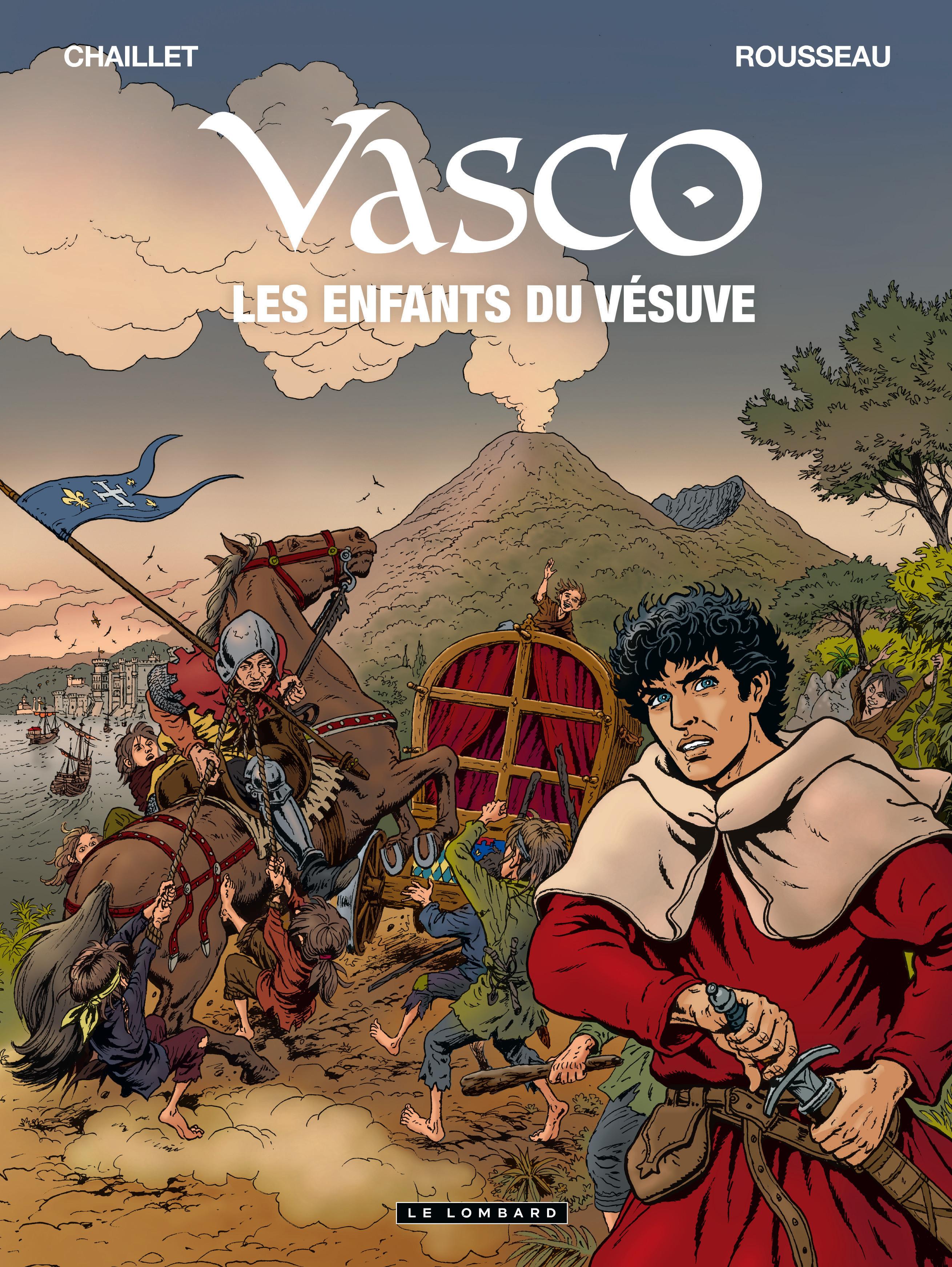 Vasco 25 - Les Enfants du Vésuve