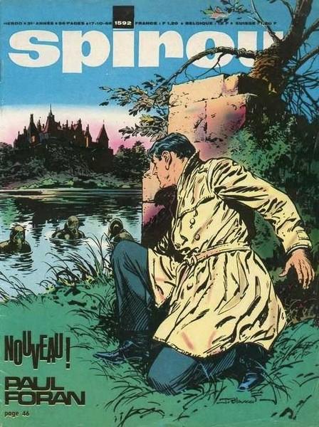 Le journal de Spirou 1592 - 1592