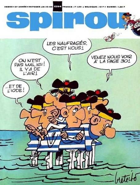 Le journal de Spirou 1594 - 1594