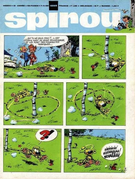 Le journal de Spirou 1595 - 1595