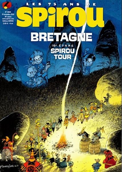 Le journal de Spirou 3944 - 10e étape Spirou tour : Bretagne