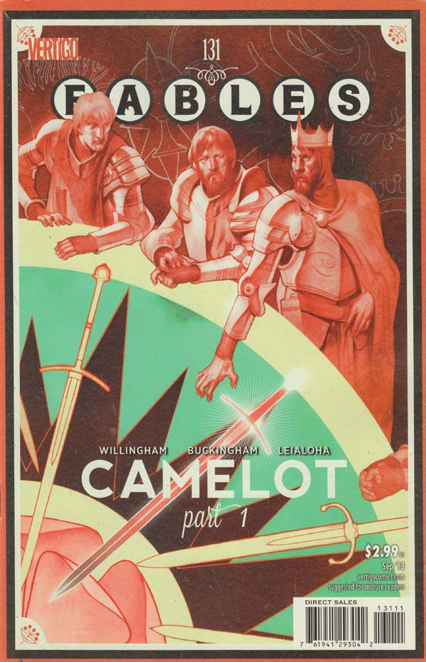Fables 131 - A Heart Remote and Unyielding, Part One of Camelot