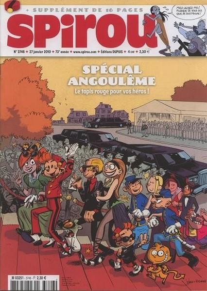 Le journal de Spirou 3746 - Spécial Angoulême