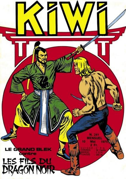 Kiwi 241 - Le Grand Blek contre les fils du Dragon Noir (1)