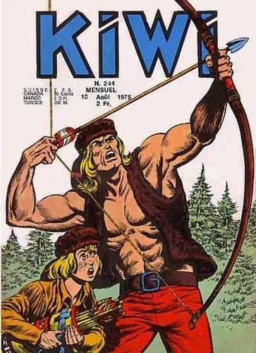 Kiwi 244 - Le naufragé