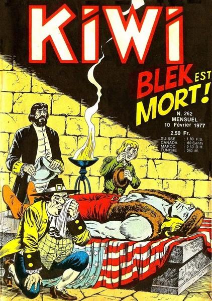Kiwi 262 - Blek est mort !