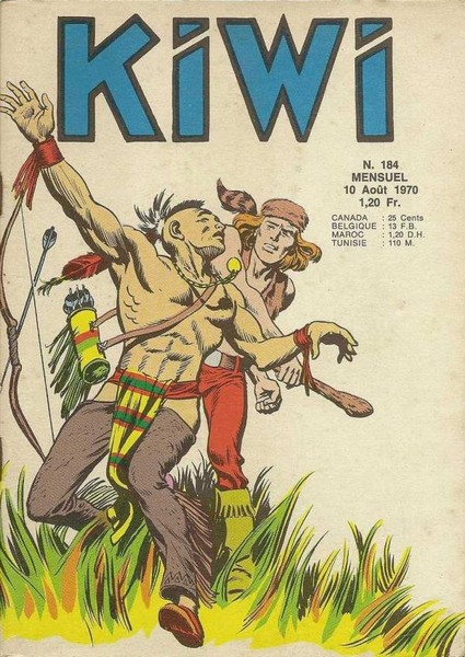 Kiwi 184 - Dans l'antre du fauve