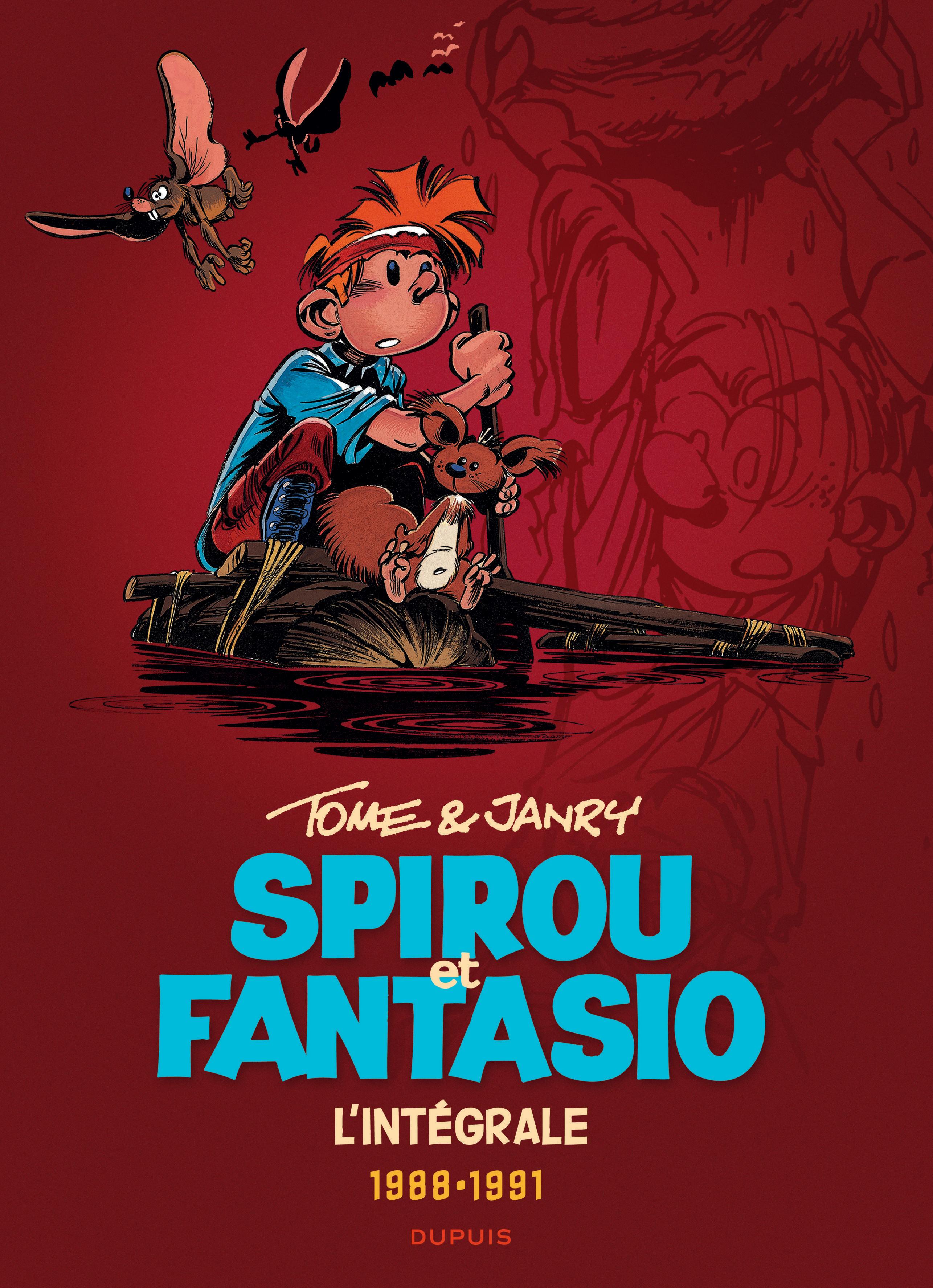 Les aventures de Spirou et Fantasio 15 - Tome & Janry 1988-1991