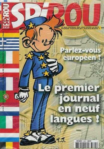Le journal de Spirou 3325