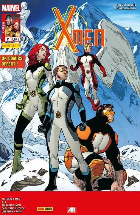 X-Men 11 - Couverture A (1/2) : Stuart Immonen