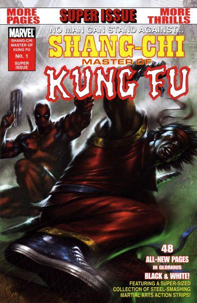Shang-Chi - Master of Kung Fu One-Shot (B&W) 1