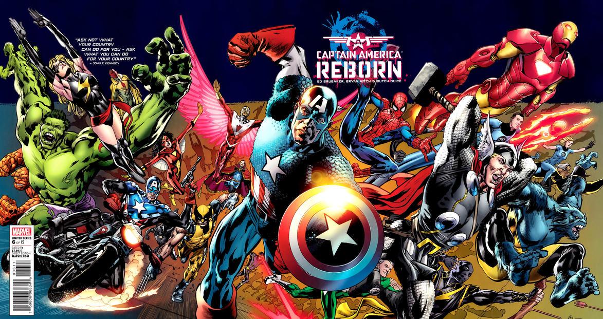 Captain America - Reborn 6