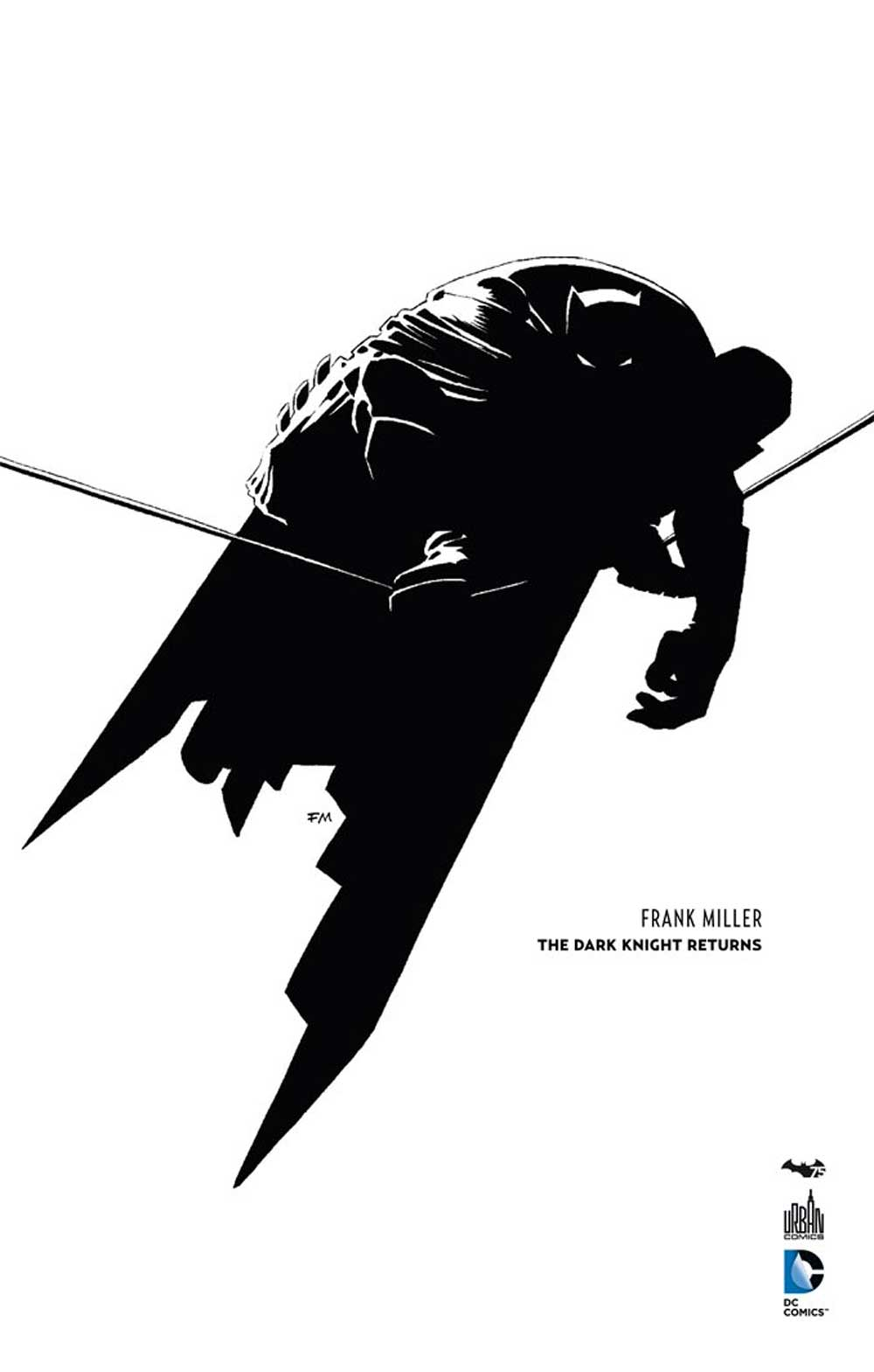 Batman - The Dark Knight Returns 1 - Batman the dark knight returns  - N&B - 75ANS