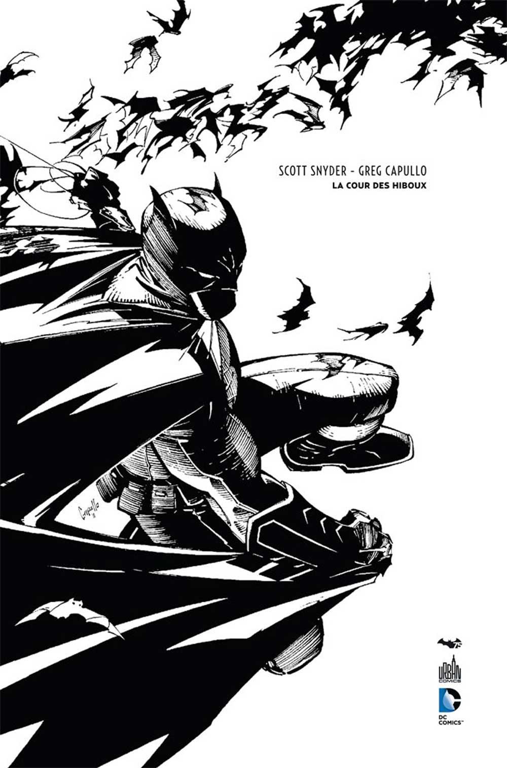 Batman - La Cour des Hiboux 1 - La cours des hiboux - N&B - 75 ANS