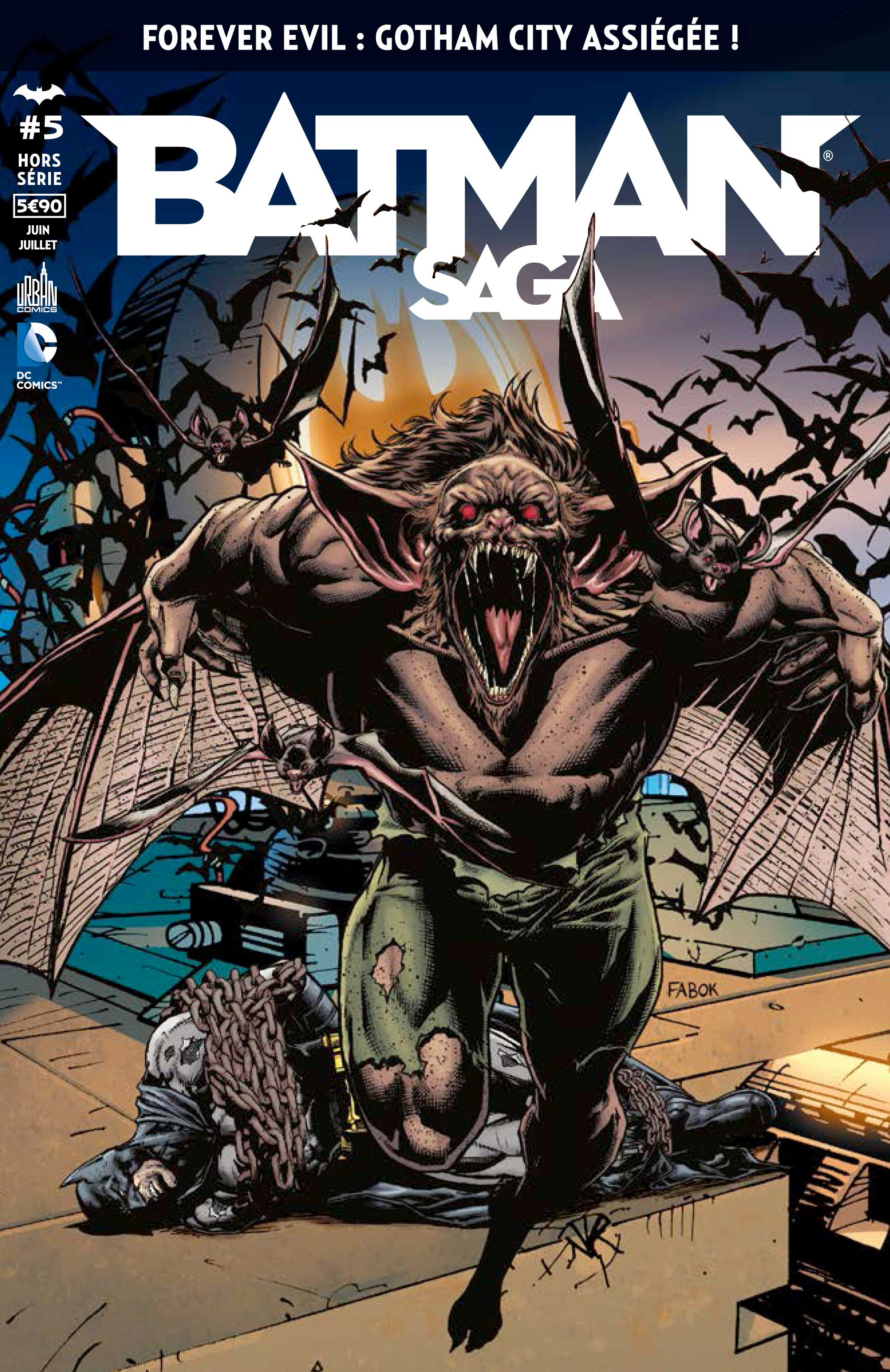 Batman Saga Hors-Série 5