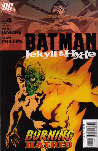 Batman - Jekyll & Hyde 4 - Burning Hatred
