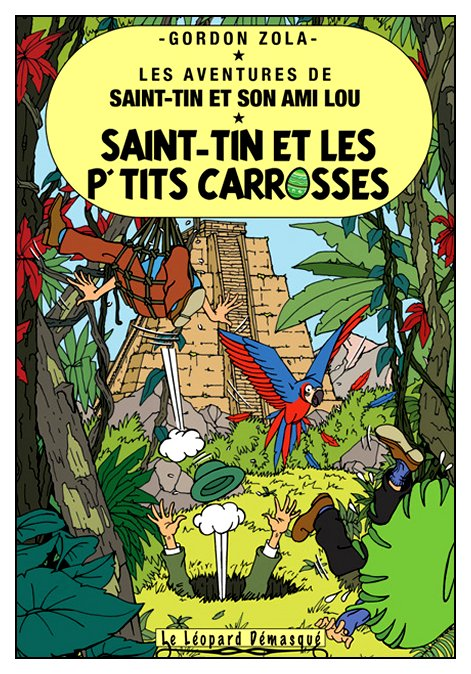 Les aventures de Saint-Tin et son ami Lou 22 - Saint-Tin et les p'tits carrosses