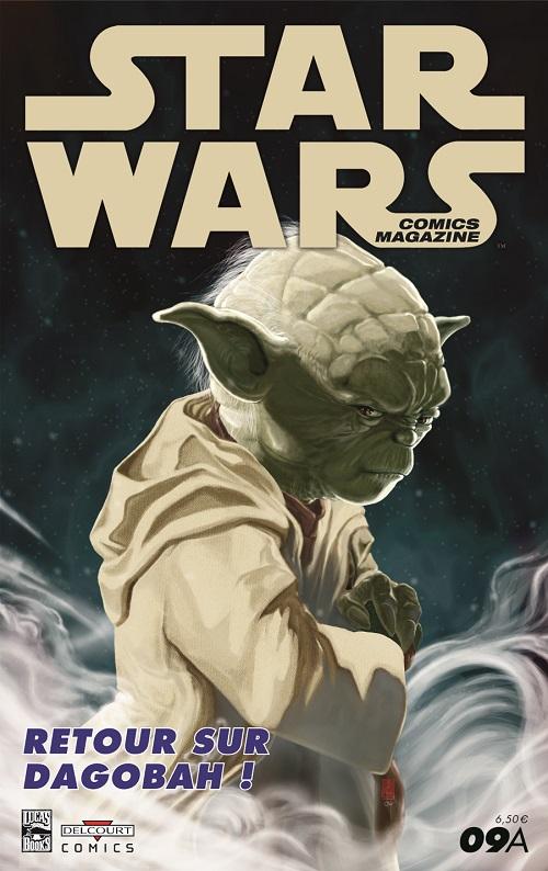 Star Wars comics magazine 9 - Couverture 9A