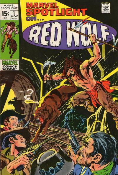 Marvel Spotlight 1 - Red Wolf