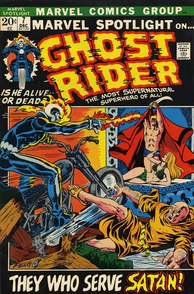 Marvel Spotlight 7 - Die, Die, My Daughter!