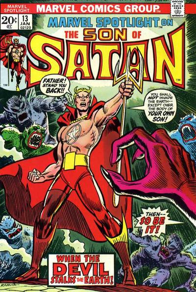 Marvel Spotlight 13 - When Satan Stalked the Earth!