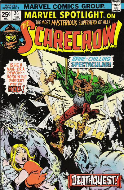 Marvel Spotlight 26 - Death Waters of the River Styx
