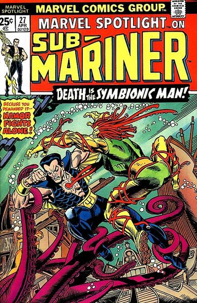 Marvel Spotlight 27 - Death Is the Symbionic Man!
