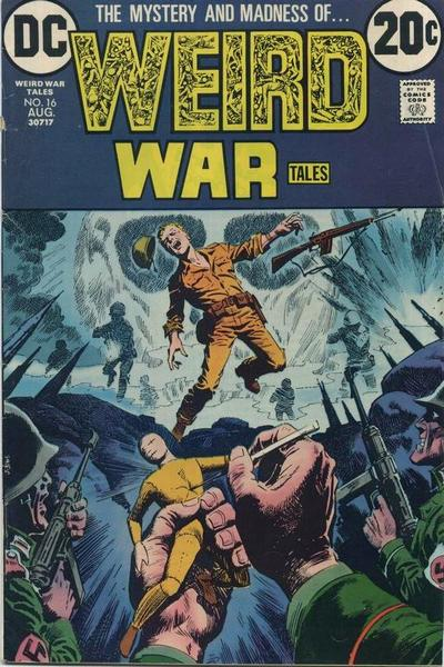 Weird War Tales 16