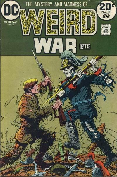 Weird War Tales 18