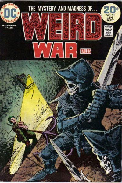 Weird War Tales 21