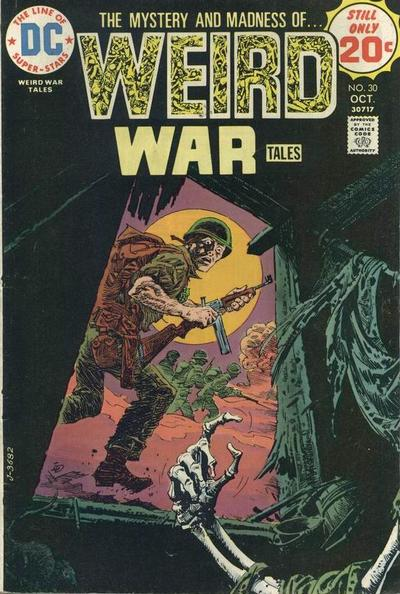 Weird War Tales 30