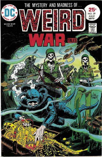 Weird War Tales 39