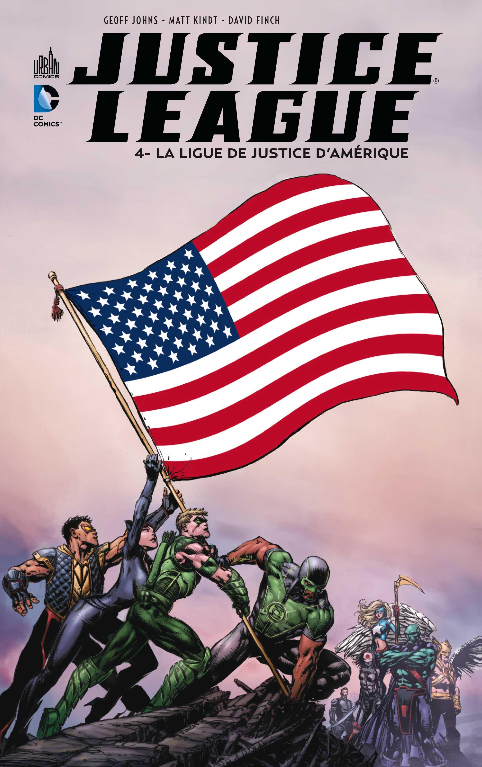 Justice League 4 - La ligue de justice d'Amérique