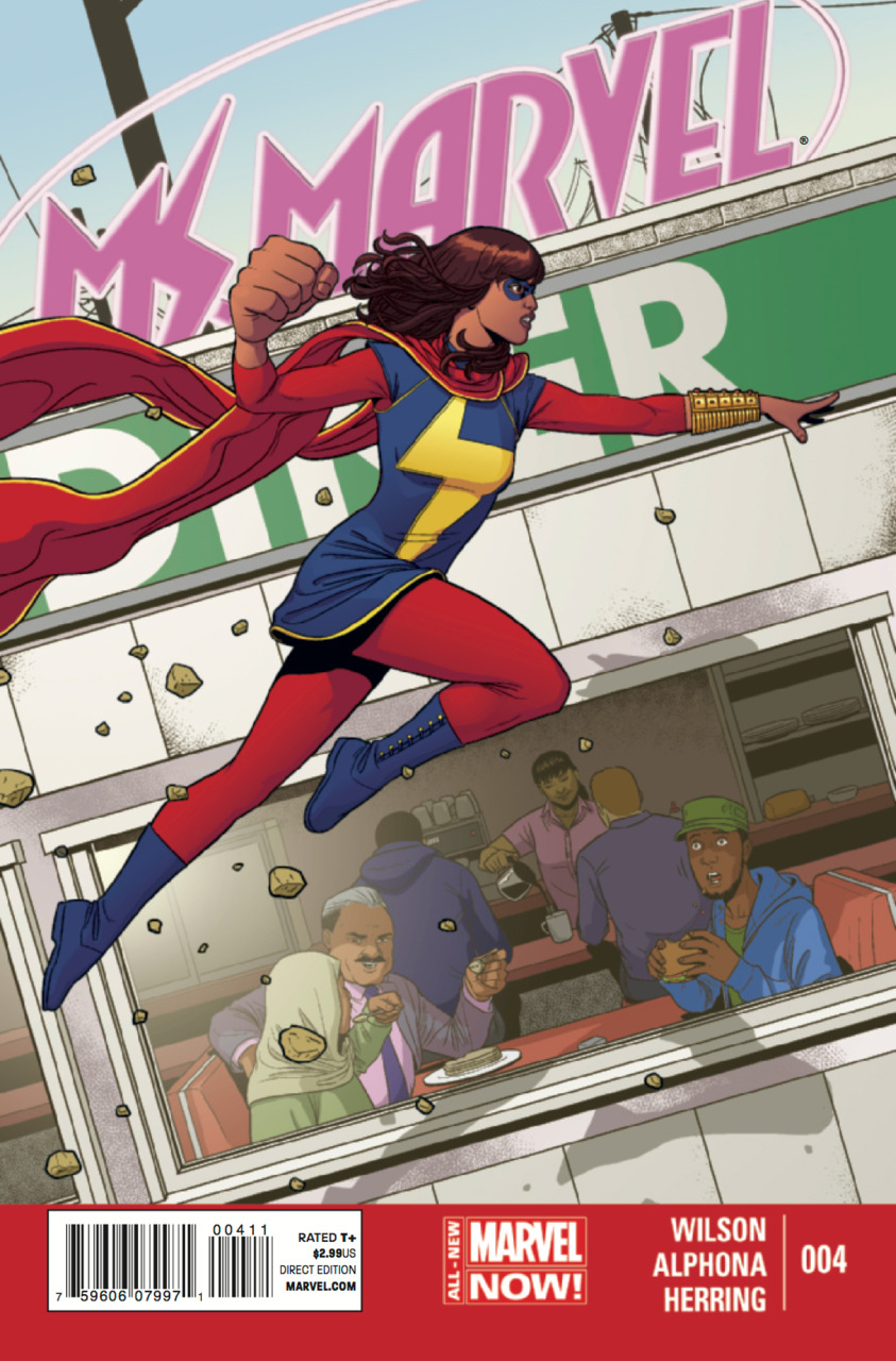 Ms. Marvel 4 - Issue 4