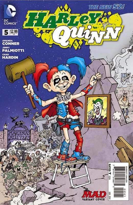Harley Quinn 5 - The Hunt For Red Octogenarians (MAD Variant)