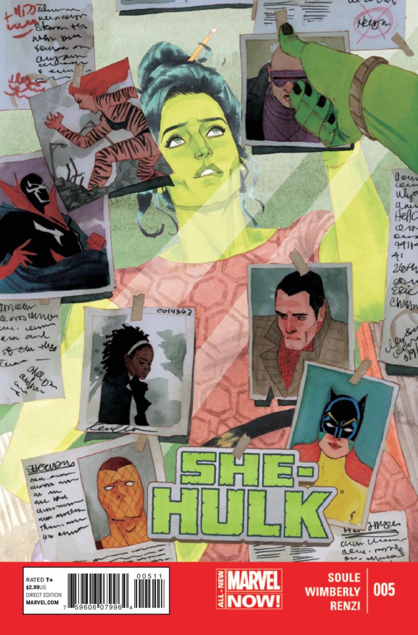 Miss Hulk 5 - Blue
