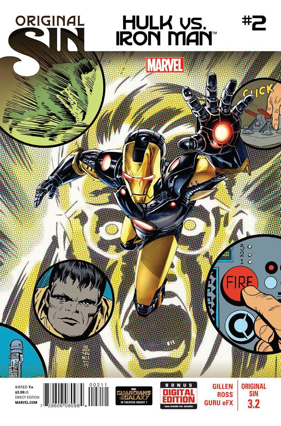 Original Sin 3.2 - Hulk Vs. Iron Man #2