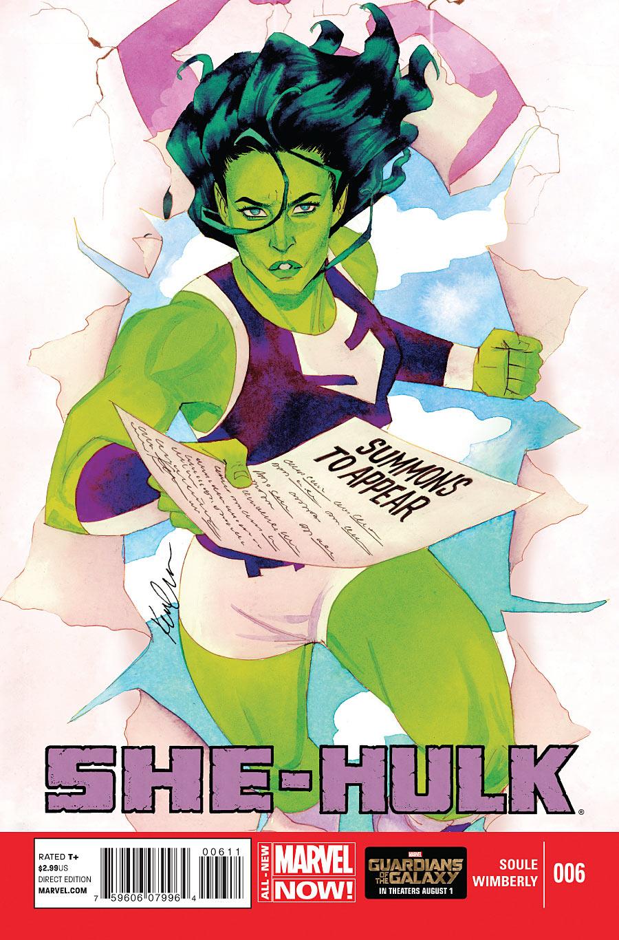Miss Hulk 6 - Issue 6